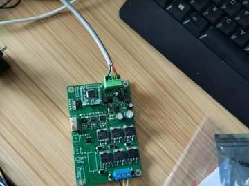 BLDC无刷直流驱动控制板,可驱动300W电机,已量产(STM32 CAN总线)