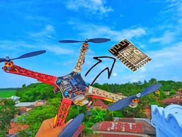基于 ESP8266 的无人机飞行控制器(国外开源)