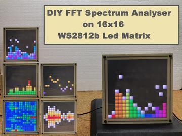 基于 ESP32 的频谱分析仪