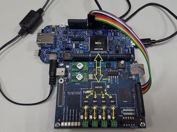 基于NXP SJA1105 五端口汽车以太网交换机方案