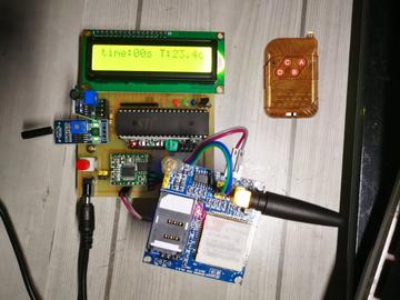 基于单片机的GSM震动报警系统,基于单片机的汽车震动报警系统