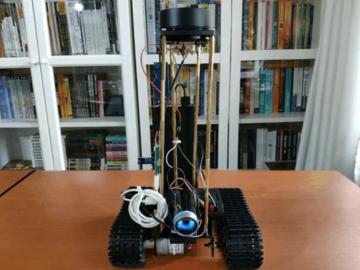 基于 树莓派 4B 的自主垃圾检测机器人