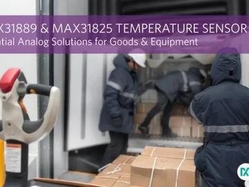 Maxim近日宣布推出两款业界领先的温度传感器IC,助力温度监测相关应用