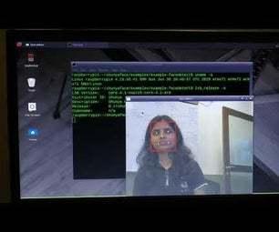 基于RaspberryPi-4 上的实时人脸检测