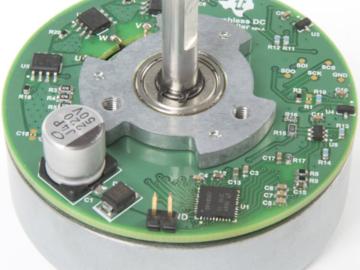 基于DRV8307的12V与24V无刷直流外转式电机电路设计