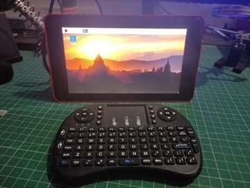 基于树莓派的便携式触摸屏计算机