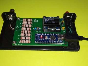 带有功率计的射频负载(用于 HF 无线电套件)
