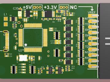 STM32下载器 Mini-Jlink-V9 缩小版设计方案