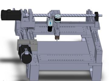 diy小型SMT视觉贴片机电路方案(控制系统+原理图+BOM+程序源码)