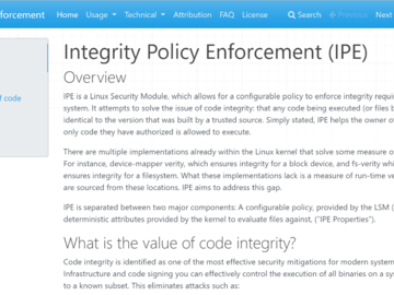 微软宣布推出IPE 解决Linux的代码完整性问题