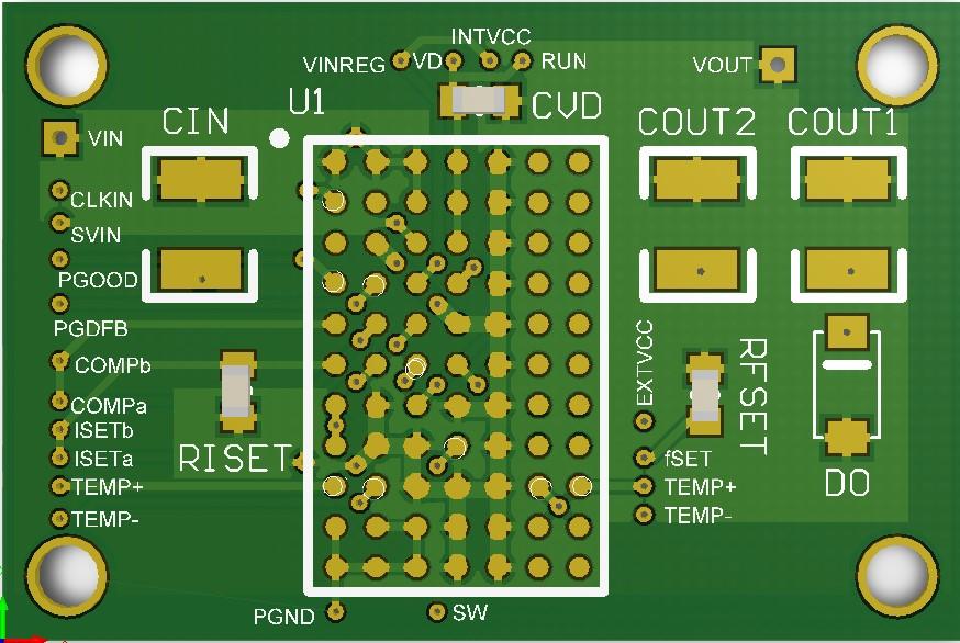 LTM4651参考设计,58V、24W DC/DC 负输出μModule,含原理图、PCB、BOM,Altium格式
