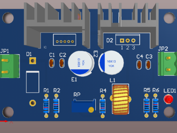 降压DCDC IN4-40 Out 2-36V设计方案
