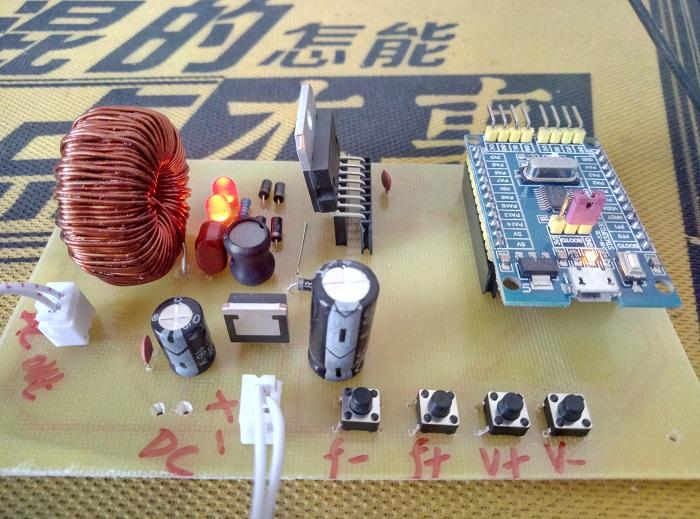 基于STM32单片机SPWM逆变电源设计