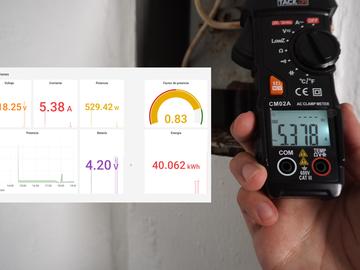 基ESP 32的智能能量监视器