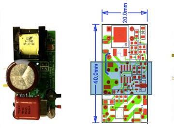 Infineon ICL8002G LED调光室內照明方案