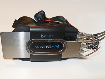 自制带风扇的 VR 耳机的散热模块