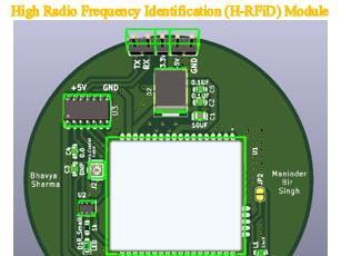 高射频识别(H-RFiD)模块