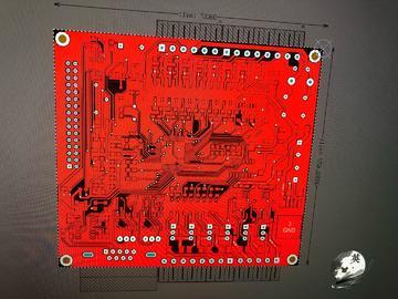 基于stm32f103仿三菱FX3U PLC电路方案设计(源码+pcb+原理图)