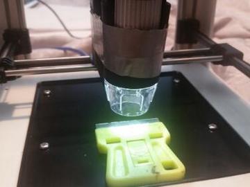 超有趣、超硬核的3D打印机电动显微镜设计