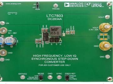 ADI同步降压型控制器LTC7803助力电源设计