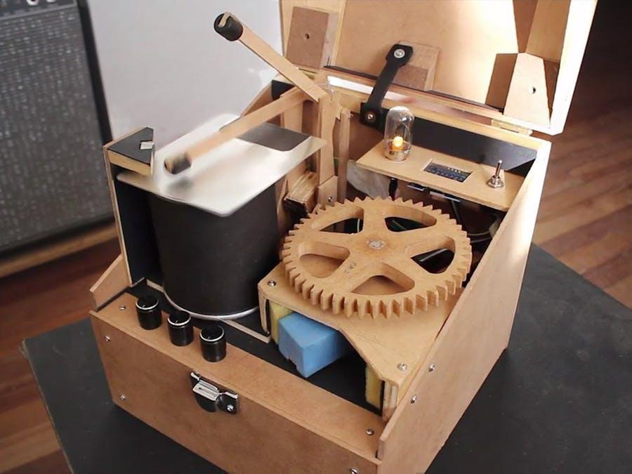 DrumCube——令人振奋的Arduino机器人鼓手