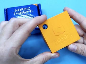 基于nRF9160 SiP和nRF52840 SoC的蜂窝式IoT传感器原型平台