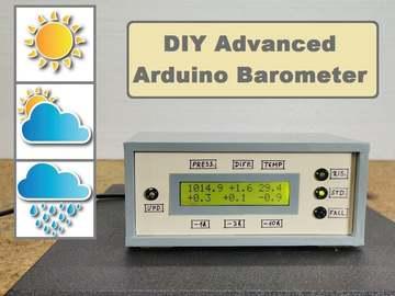 基于Arduino的高级DIY晴雨表