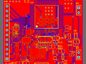 16位AD高精度电阻检测