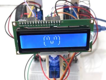 """基于微控制器制造的机器人""""本"""""""