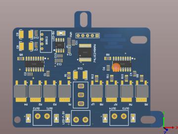 智能车驱动板PCB MOS管设计方案