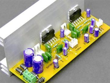 DIY具有TDA7265 IC的3通道音频放大器板