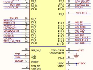 英飞凌PMSM开发板电路方案(原理图+源码)