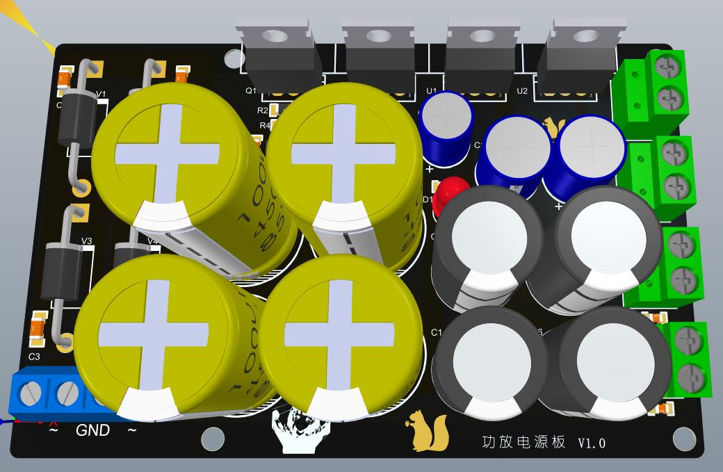 TL431搭建的正负电源