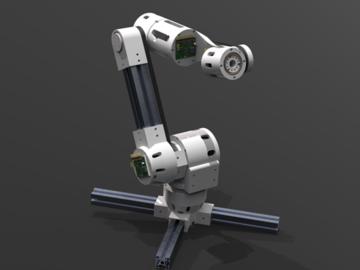 通过3D打印制作机械臂