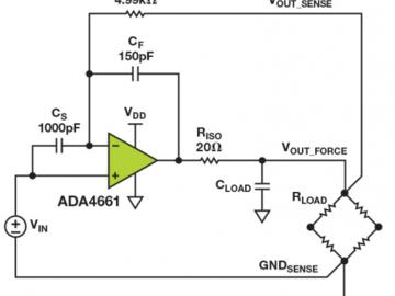 运算放大器无法驱动负载怎么办?巧妙实现负载驱动器电路分享