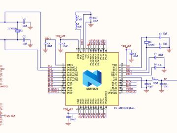 NRF52832开发板电路方案(原理图)