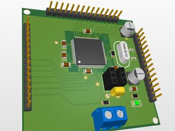 Tmc2209具有通过RS485的Atmega2560的步进驱动器