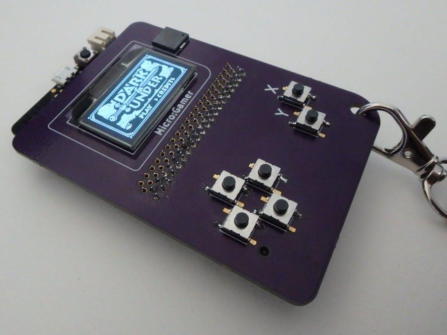 Micro Gamer——基于micro bit的便攜式游戲機