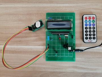 基于单片机DS1302万年历-红外遥控器-闹钟-DHT11温湿度-倒计时