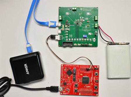 可調節高電壓專用充電端口進行交互的軟件實施方案