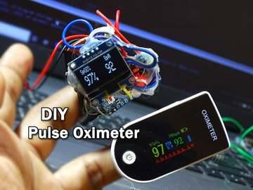 基于 Arduino 的DIY脉搏血氧仪