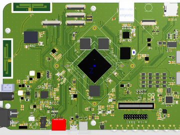 瑞芯微RK3399pro原理图PCB