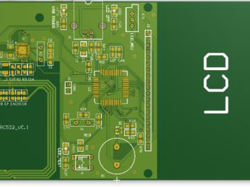 MFRC522 13.56MHZ射频加密读卡器Protel 99se 设计设计硬件原理图+PCB文件