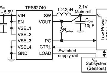 让物联网设备永远在线,基于TPS62740的能量收集电路设计实现比电池更好的供电管理电路