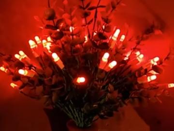 Krampus LED葉子燈,這是一種危險的diy