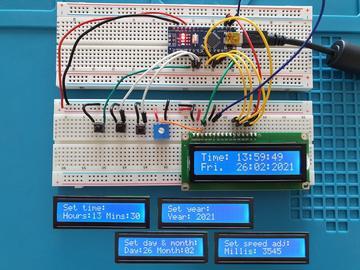 使用Arduino即可获得准确的时钟,DIY一个精度高的时钟