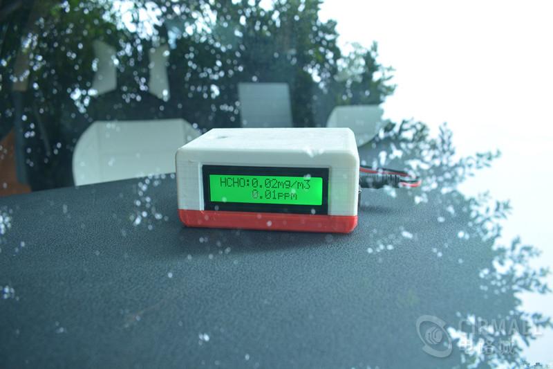 3D打印便携式甲醛检测仪,甲醛浓度轻松测