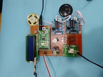 基于STM32单片机的智能车载公交装置的设计-LCD1602-GPS-(电路图+程序源码)