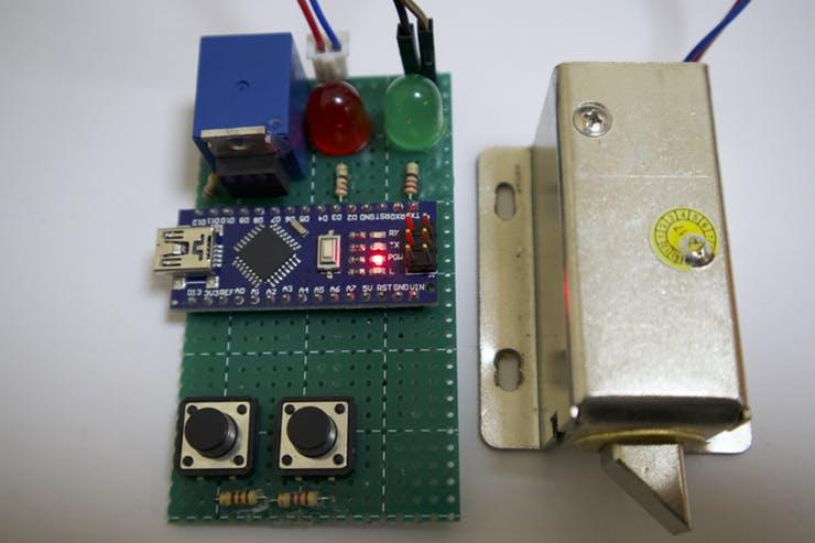 制作一个图案锁,使用Arduino的模式锁定