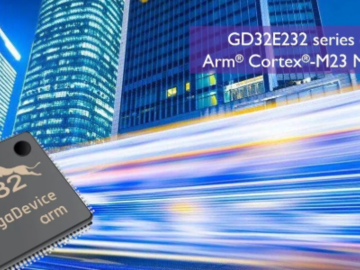 基于Cortex-M23处理器的GD32E232系列超值型微控制器发布